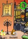 Club Penguin Halloween Candy -PizzaParlor