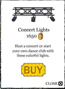 Club Penguin ConcertLights