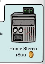 Club Penguin Home Stereo