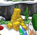 Club Penguin Needle Pin in theHaystack