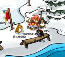 Club Penguin Christmas Party Reindeer Antlers