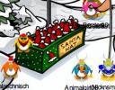 Club Penguin Christmas Party Santa Hat
