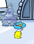 Yellow Puffle Sleeping