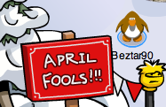 Club Penguin April Fool's Day Party