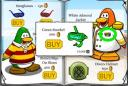 Club Penguin March Clothing Catalog Cheats - Green Snorkel