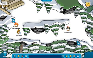 Club Penguin Upside Down Forest