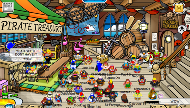 Waiting for Rockhopper\'s Key to be Hidden