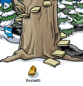 Club Penguin Treehouse tree