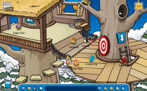 Club Penguin Tree House Area
