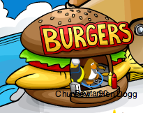 Club Penguin Burger Stand
