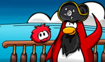 Rockhopper the Penguin on Club Penguin