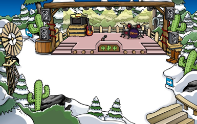 Club Penguin Country Western Music Party