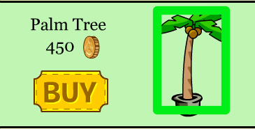 Club Penguin Palm Tree