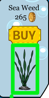 Club Penguin Sea Weed