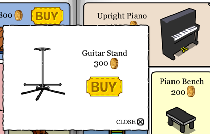 Cp Upright Piano Guitar Stand