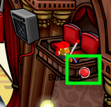 Club Penguin Dodge Ball Pin