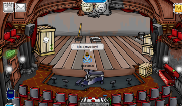 Club Penguin Mystery Play at Stage