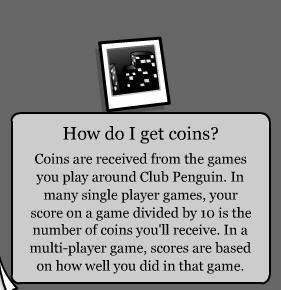 Club Penguin Noir Background