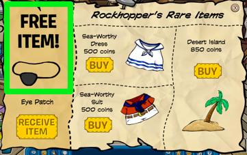 Rockhopper Free Eye Patch