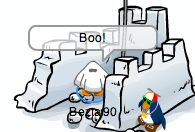 Club Penguin Ghost Costume