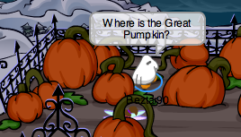 Great Pumpkin in Club Penguin