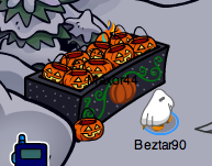 Club Penguin Pumpkin Basket