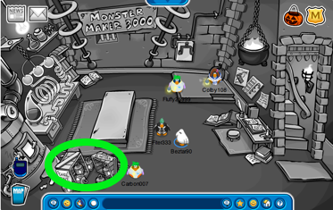 Club Penguin Secret Lab Free Lantern