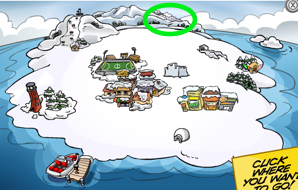 Club Penguin Map - Dojo