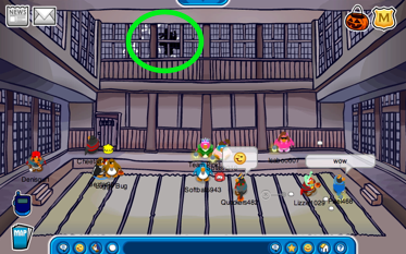 Ninja in the Dojo on Club Penguin