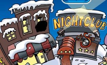 Club Penguin Ninja at the Night Club