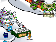 Club Penguin Free Santa Beard Box