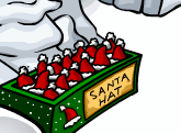 Club Penguin Free Santa Hat Box