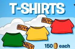 Club Penguin T-shirts