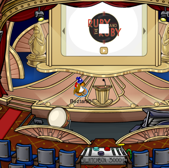 Club Penguin Awards at the Stage