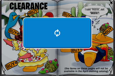 Club Penguin Clothing Catalog Problem
