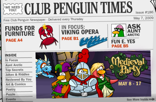 Club Penguin Newspaper 186