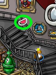 Club Penguin Watermelon Pin
