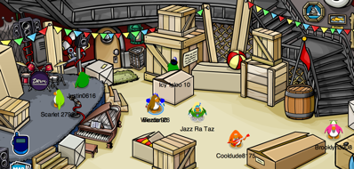 Club Penguin Fall Fair Preparations
