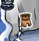 Club Penguin Sand Castle Pin