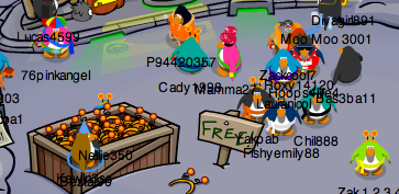 Free Club Penguin Pumpkin Antennae