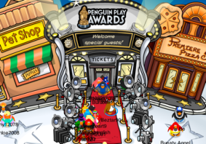 Club Penguin Play Awards