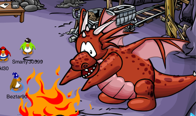 Dragon in Mine in CP