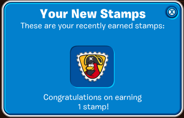 Rockhopper Stamp