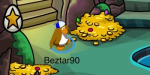 Club Penguin Easter Egg Hunt 2012 - Egg 1