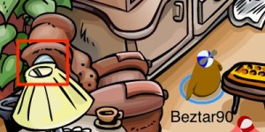 Club Penguin Easter Egg Hunt 2012 - Egg 2