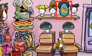 Club Penguin Easter Egg Hunt 2012 - Egg 6
