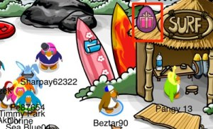 Club Penguin Easter Egg Hunt 2012 - Egg 5